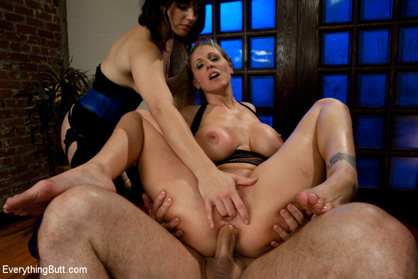 British Milf Anal Threesome