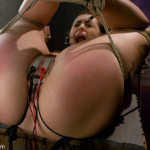 Jackie Daniels is tied up tight (2)