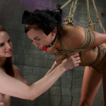 Jackie Daniels is tied up tight (7)