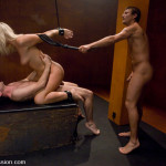 Sexy and scary scene with double penetration and bondage (3)